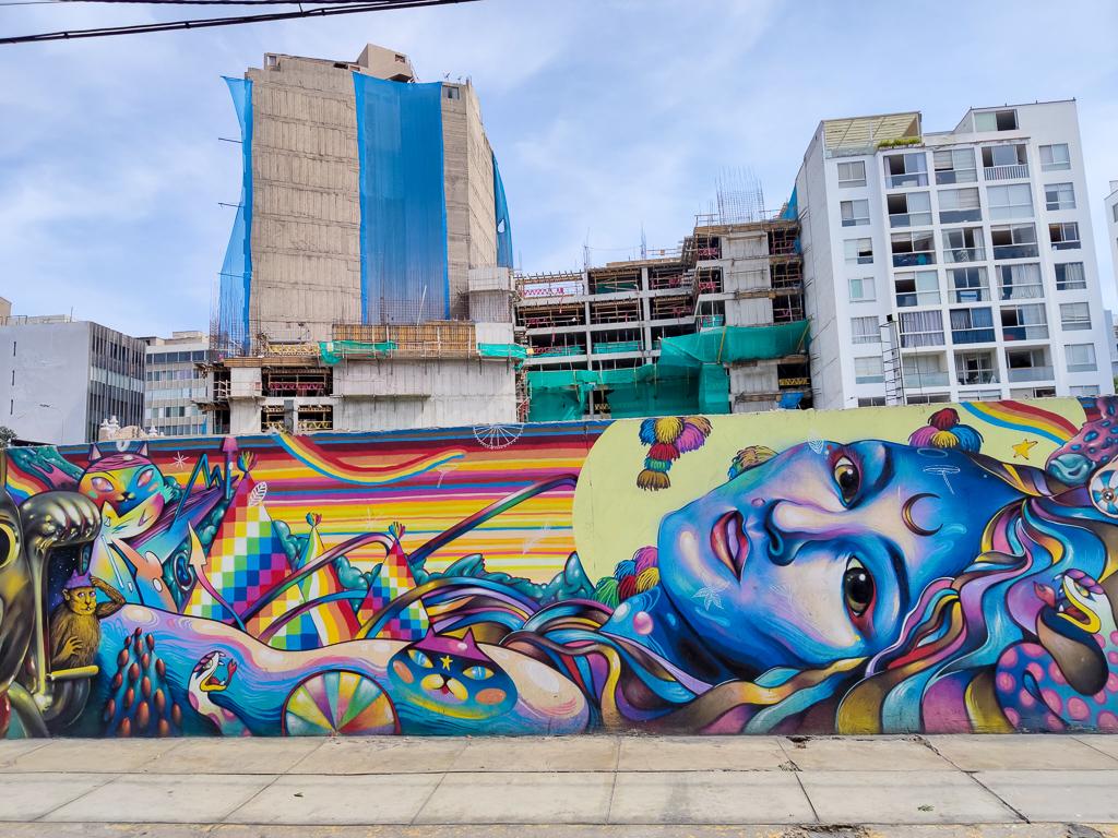 El sueño de morfeo. Grafity de la ciudad de Lima